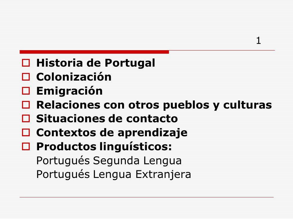 1 Historia de Portugal Colonización Emigración
