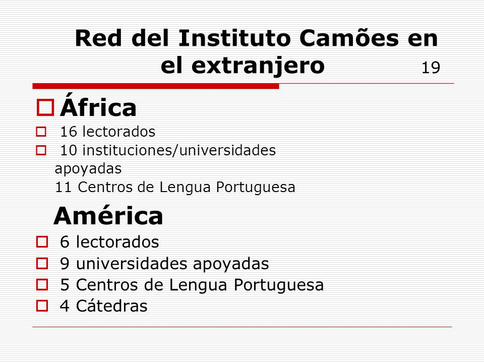Red del Instituto Camões en el extranjero 19
