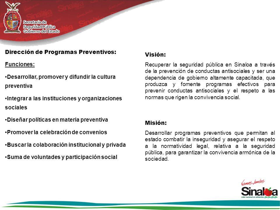 Dirección de Programas Preventivos: