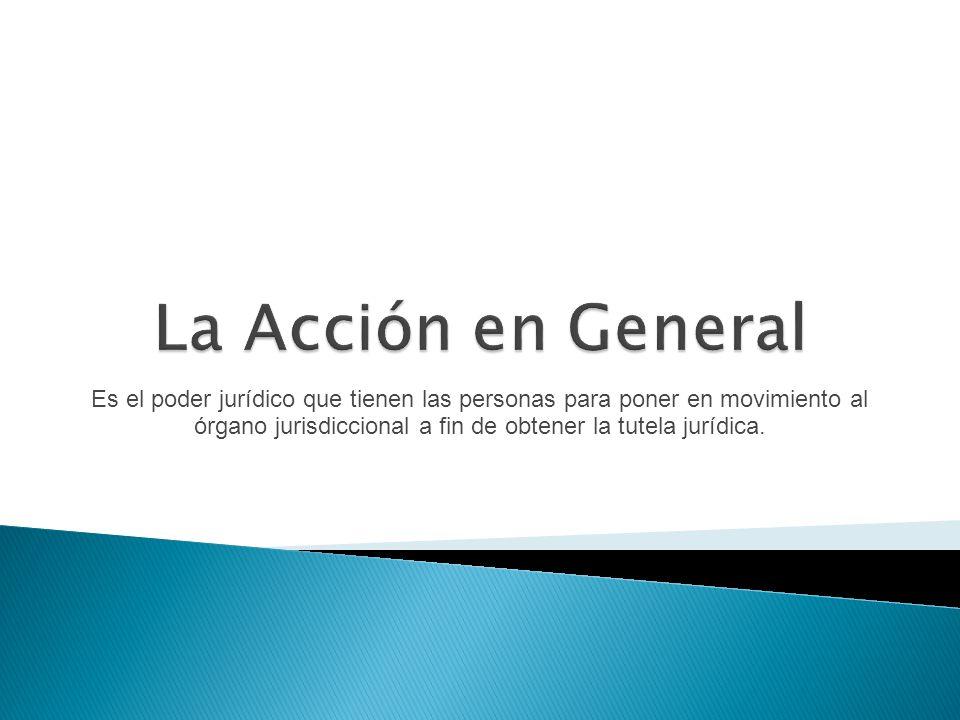 La Acción en General