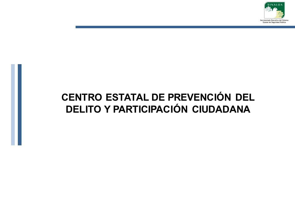 CENTRO ESTATAL DE PREVENCIÓN DEL DELITO Y PARTICIPACIÓN CIUDADANA