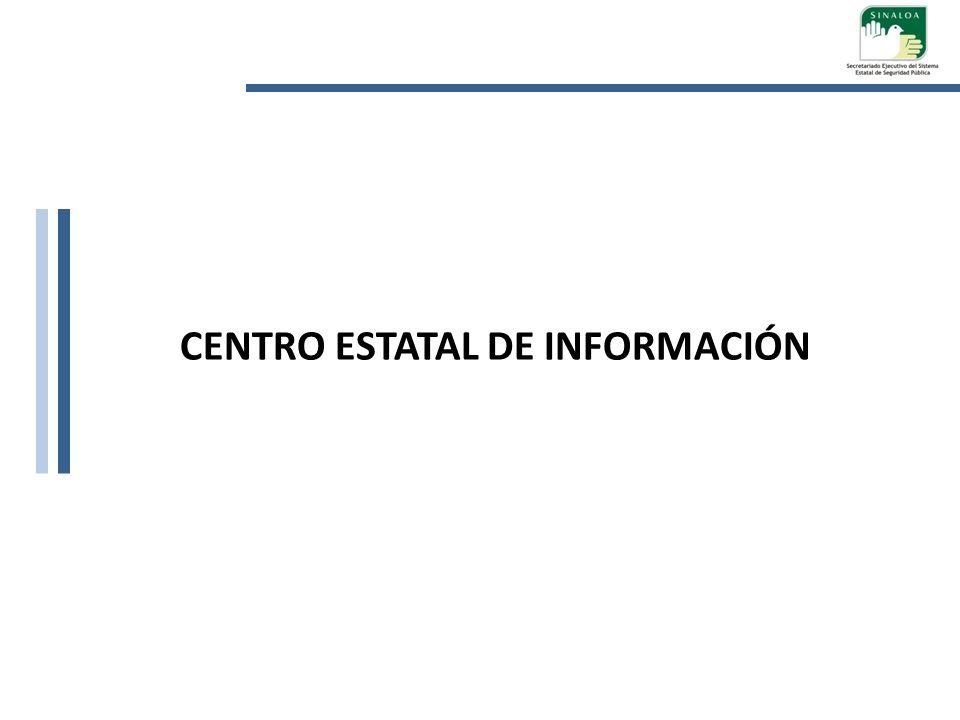 CENTRO ESTATAL DE INFORMACIÓN
