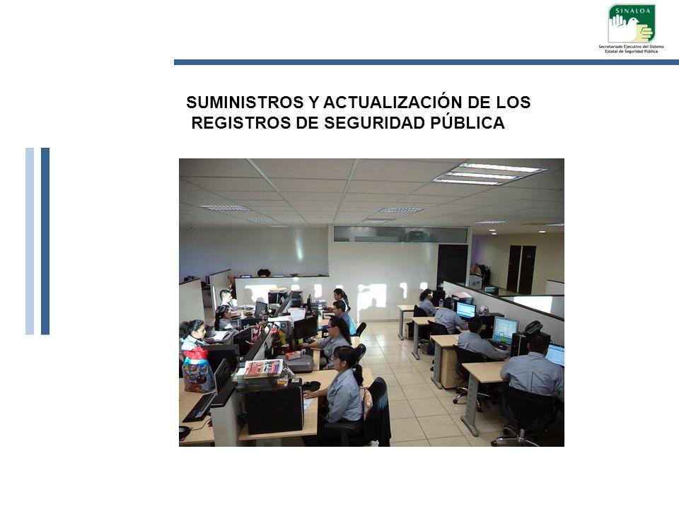 SUMINISTROS Y ACTUALIZACIÓN DE LOS