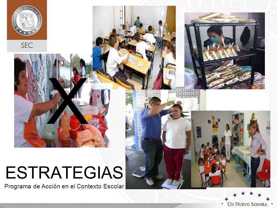 ESTRATEGIAS Programa de Acción en el Contexto Escolar