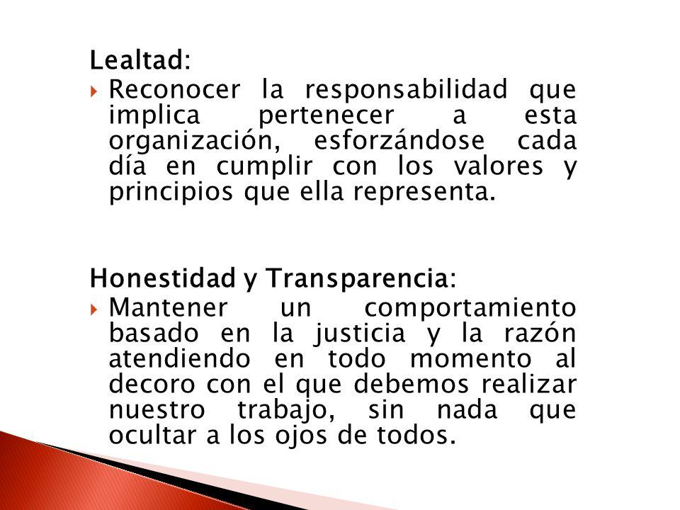 Lealtad: