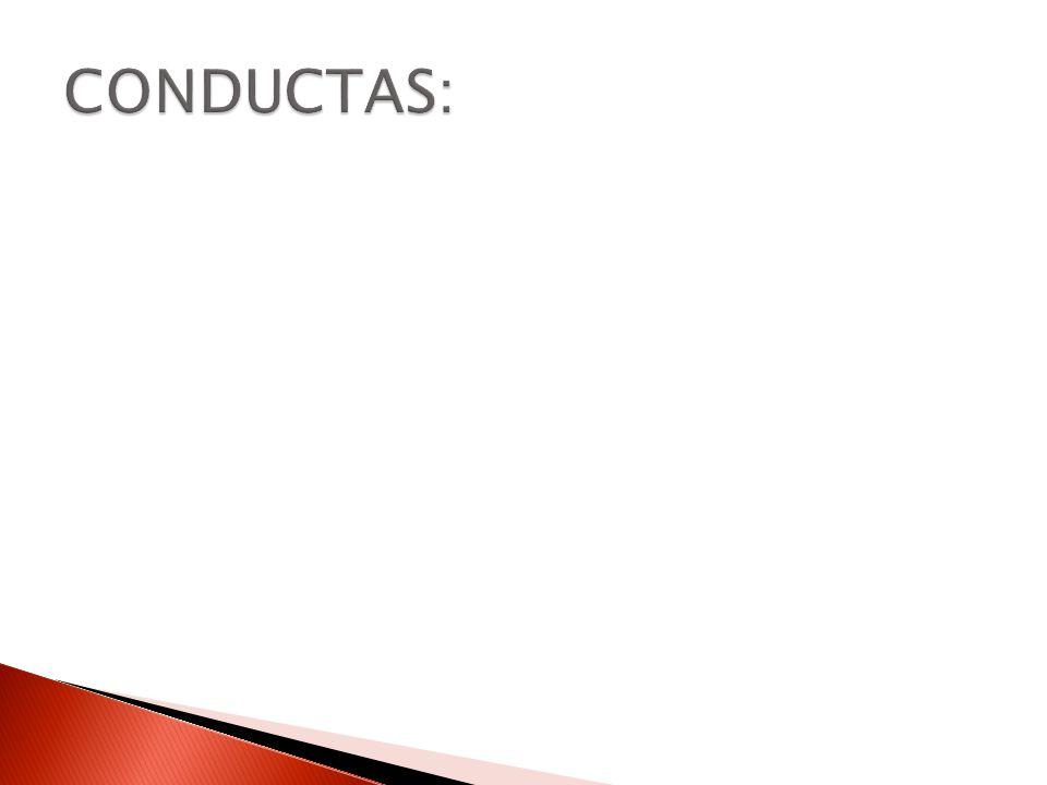 CONDUCTAS: