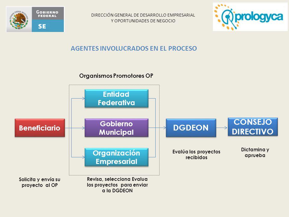 AGENTES INVOLUCRADOS EN EL PROCESO