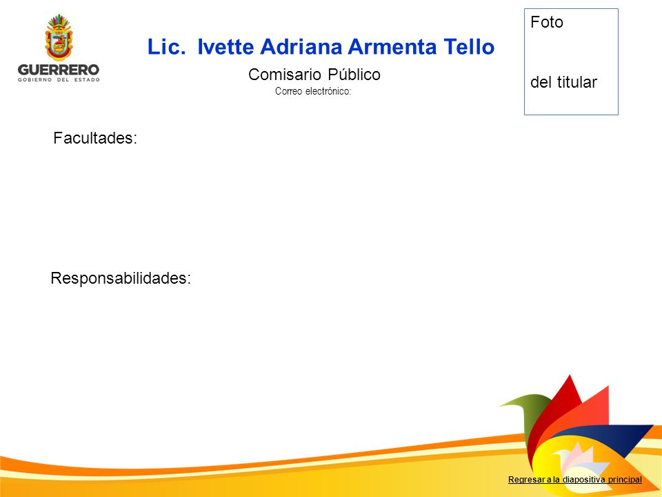 Lic. Ivette Adriana Armenta Tello