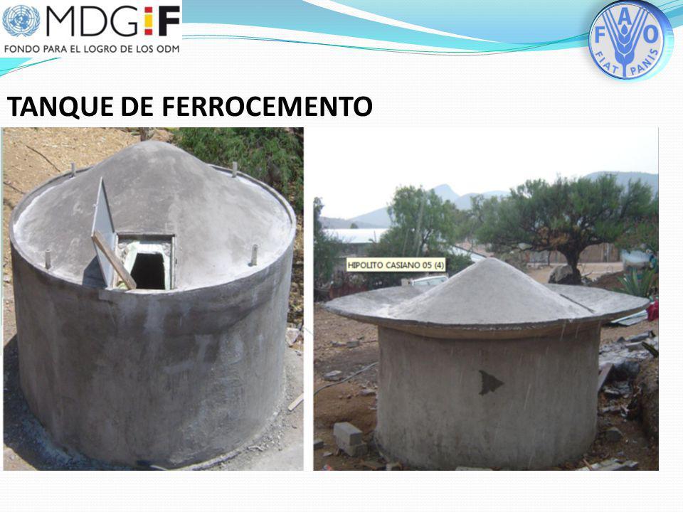 TANQUE DE FERROCEMENTO