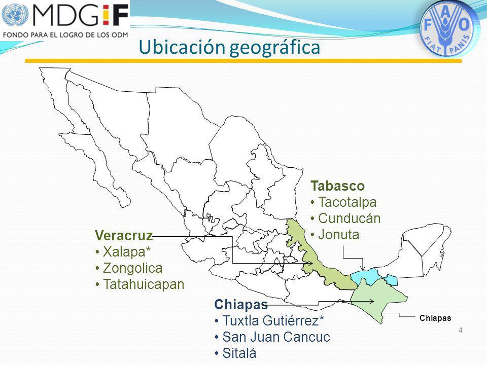 Ubicación geográfica Tabasco Tacotalpa Cunducán Jonuta Veracruz