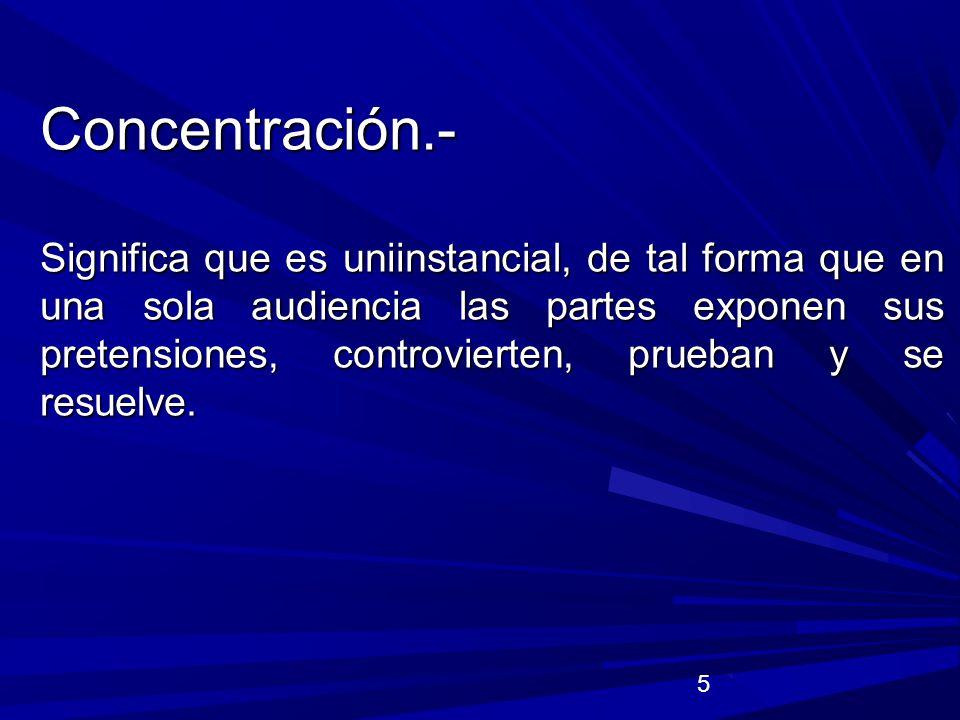 Concentración.-