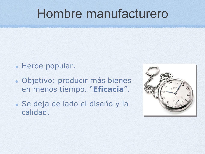 Hombre manufacturero Heroe popular.