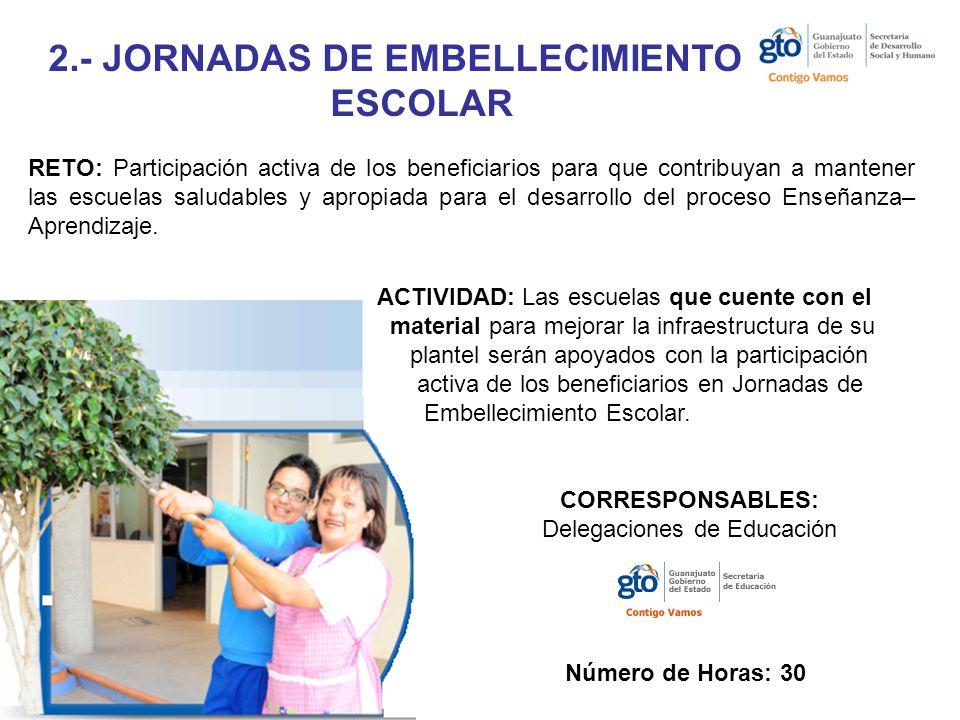 2.- JORNADAS DE EMBELLECIMIENTO