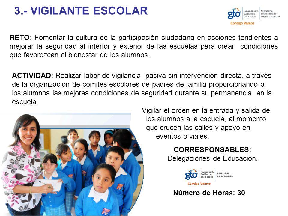 Delegaciones de Educación.