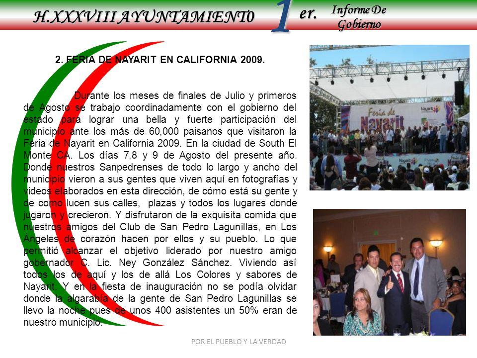 2. FERIA DE NAYARIT EN CALIFORNIA 2009.