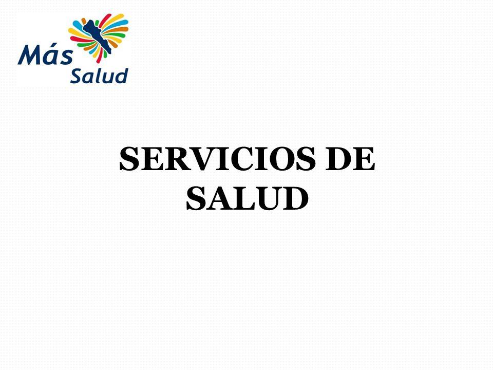 SERVICIOS DE SALUD