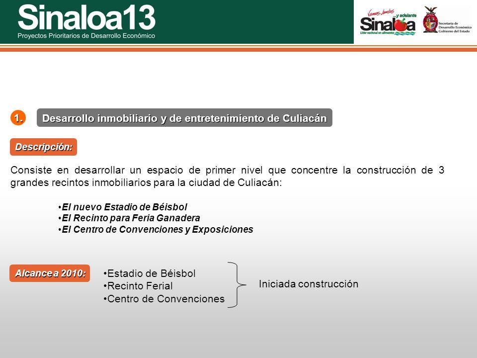 Desarrollo inmobiliario y de entretenimiento de Culiacán