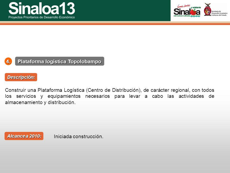 Plataforma logística Topolobampo