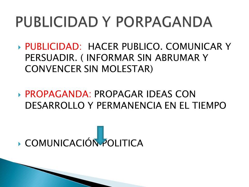 PUBLICIDAD Y PORPAGANDA