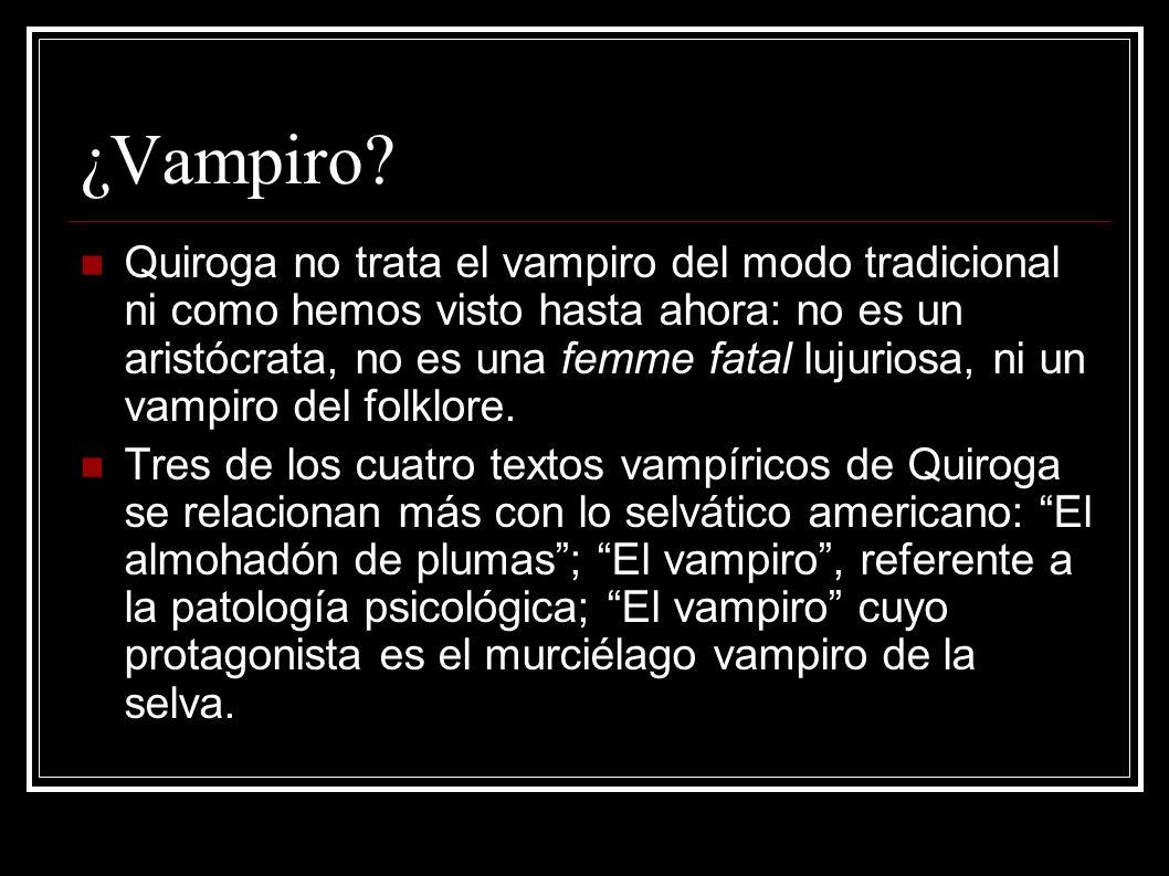 ¿Vampiro