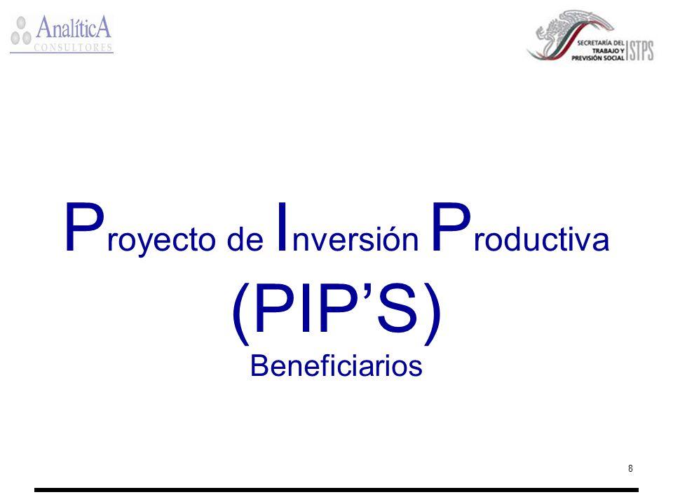 Proyecto de Inversión Productiva