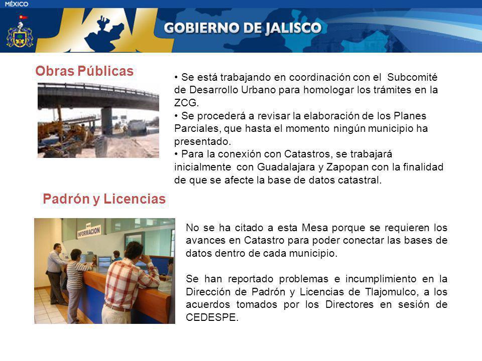 Obras Públicas Padrón y Licencias