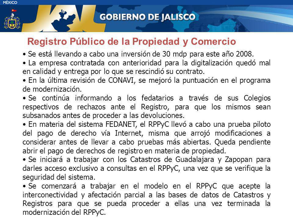 Registro Público de la Propiedad y Comercio