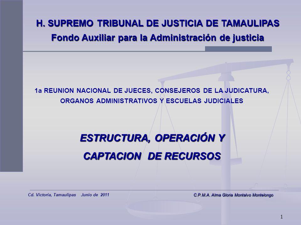 ESTRUCTURA, OPERACIÓN Y CAPTACION DE RECURSOS