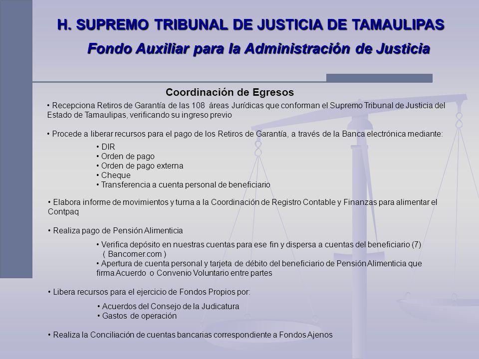 H. SUPREMO TRIBUNAL DE JUSTICIA DE TAMAULIPAS