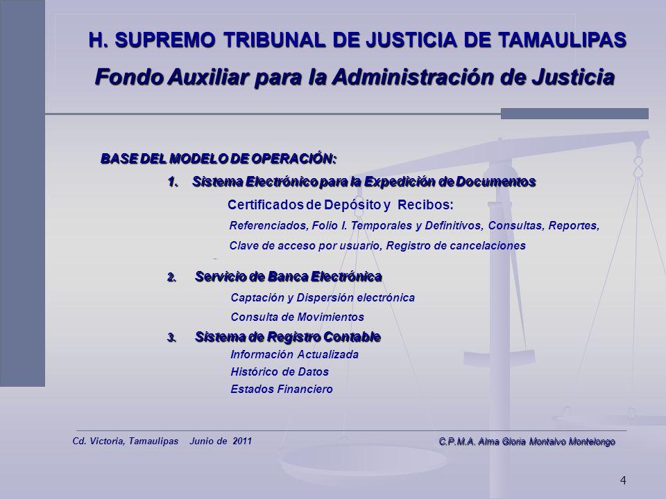 Fondo Auxiliar para la Administración de Justicia