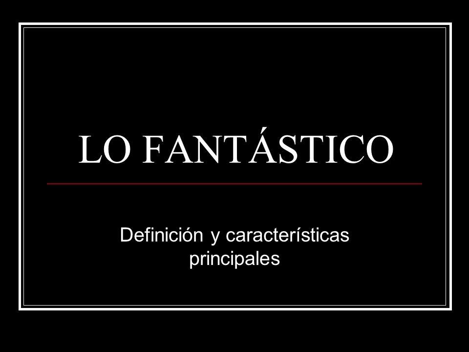 Definición y características principales
