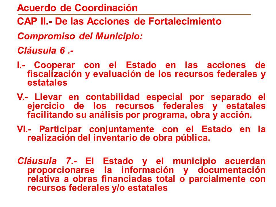 Acuerdo de Coordinación