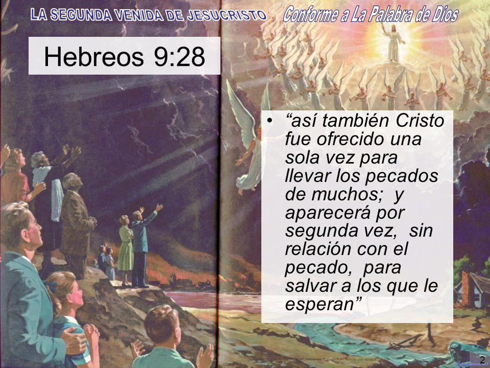 Hebreos 9:28