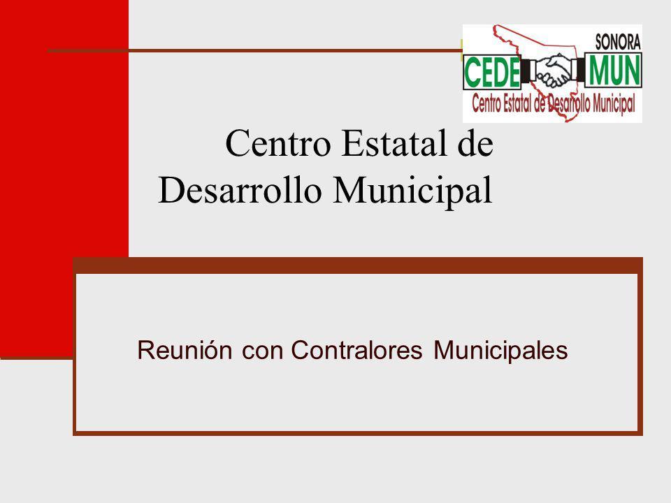 Centro Estatal de Desarrollo Municipal