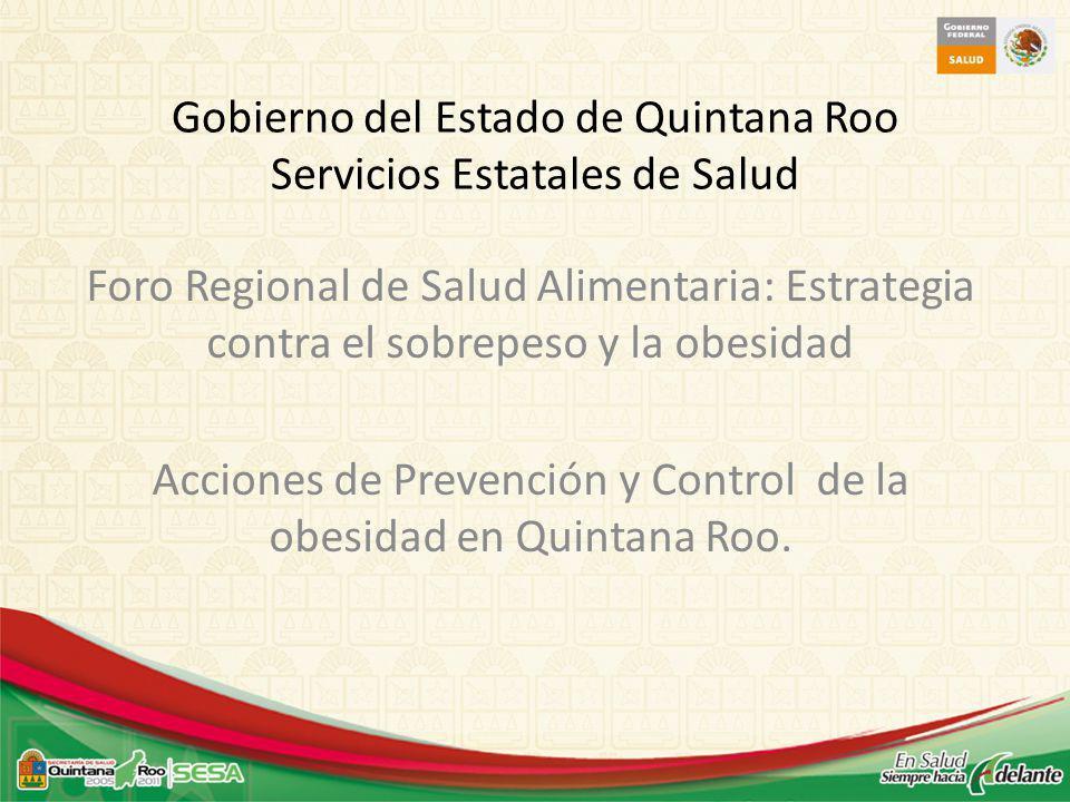 Gobierno del Estado de Quintana Roo Servicios Estatales de Salud