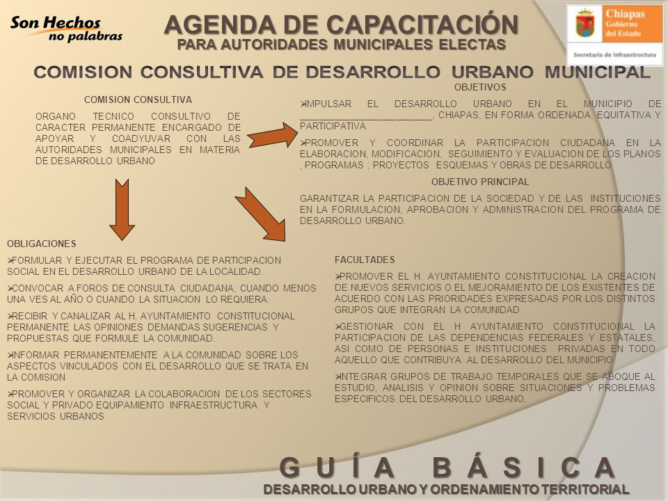 COMISION CONSULTIVA DE DESARROLLO URBANO MUNICIPAL