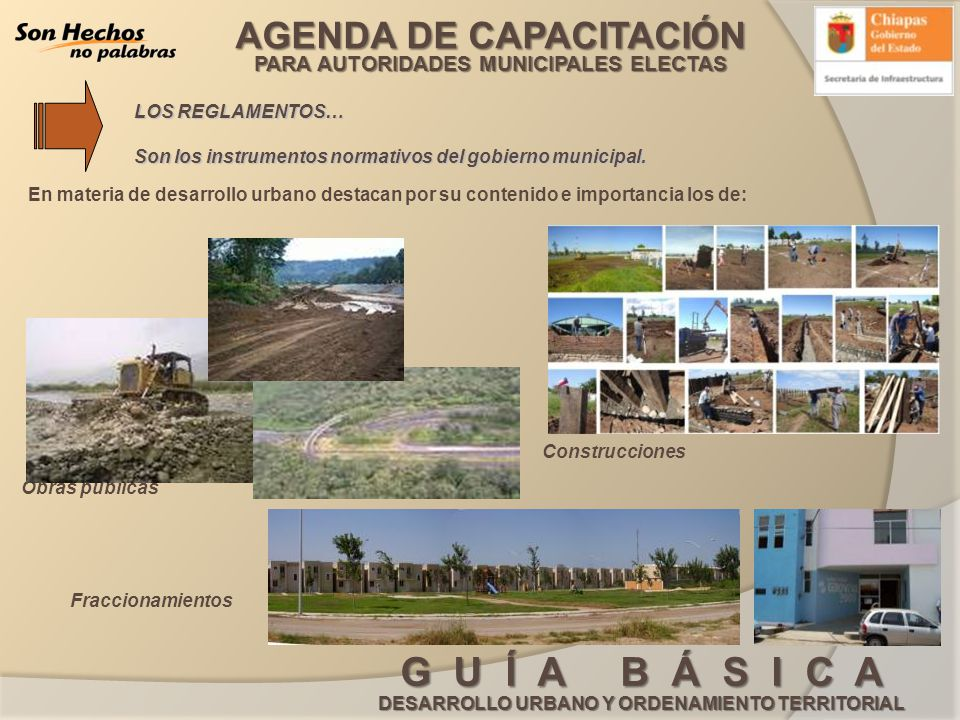 LOS REGLAMENTOS… Son los instrumentos normativos del gobierno municipal.