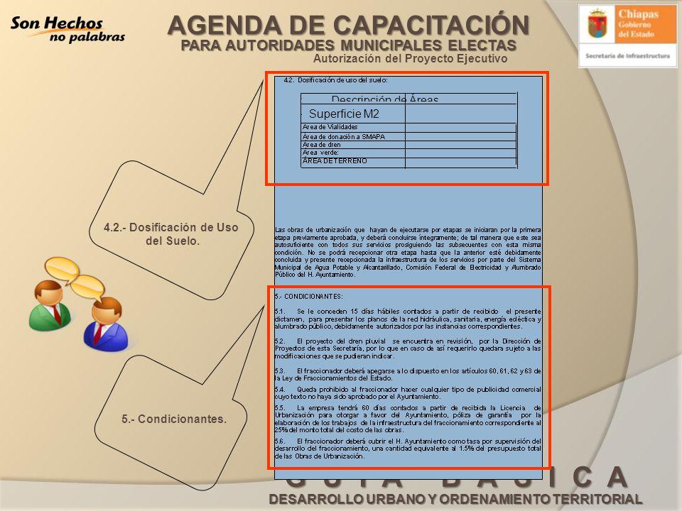 Autorización del Proyecto Ejecutivo