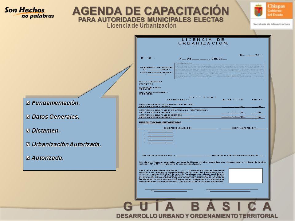 Licencia de Urbanización