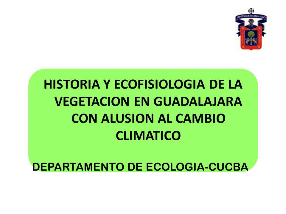 DEPARTAMENTO DE ECOLOGIA-CUCBA