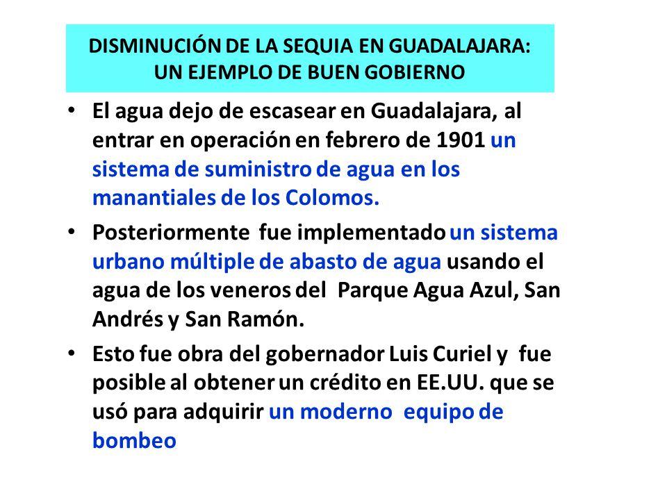 Disminución de la sequia en Guadalajara: un ejemplo de buen gobierno