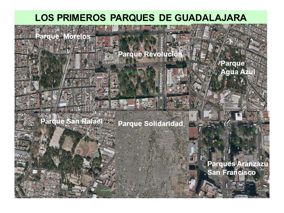 LOS PRIMEROS PARQUES DE GUADALAJARA