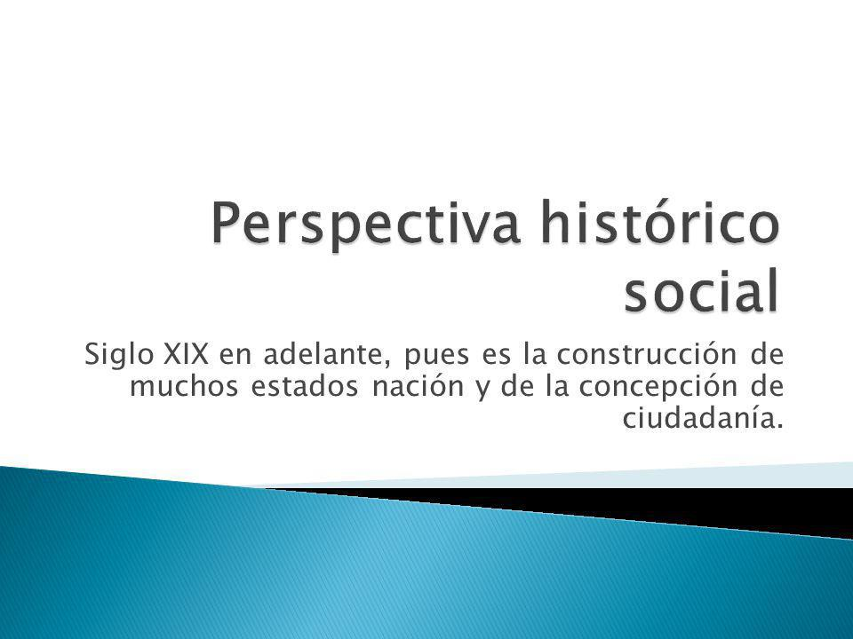 Perspectiva histórico social