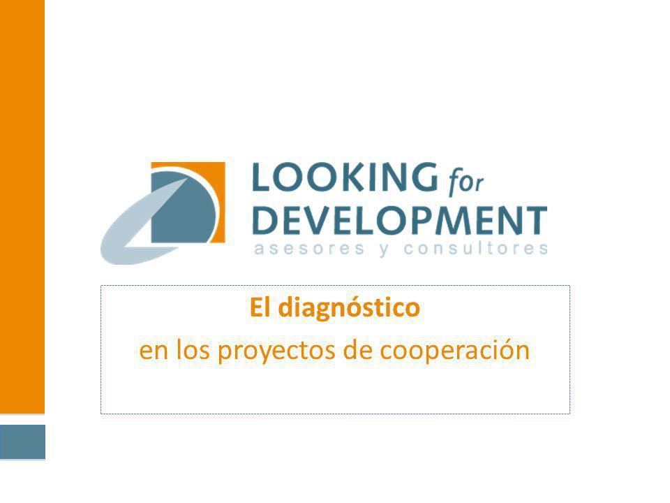 El diagnóstico en los proyectos de cooperación