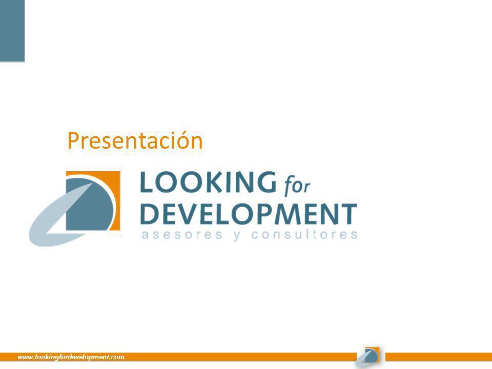 Presentación www.lookingfordevelopment.com
