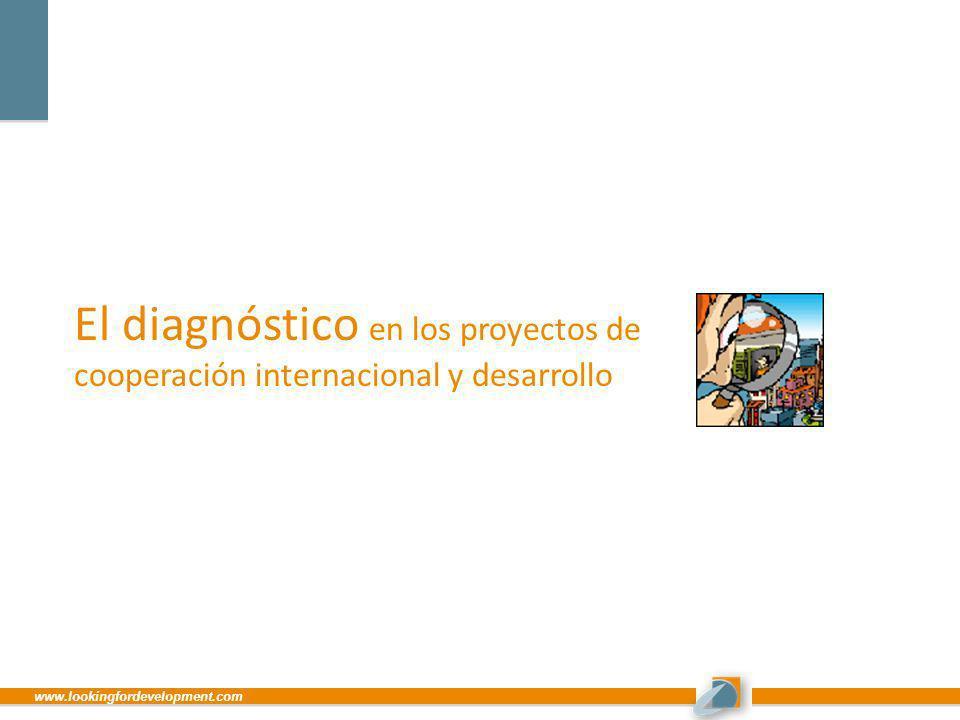 El diagnóstico en los proyectos de cooperación internacional y desarrollo