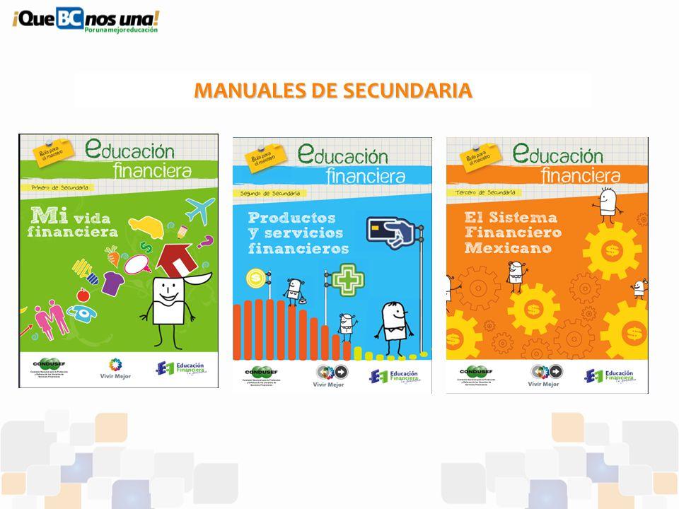 MANUALES DE SECUNDARIA