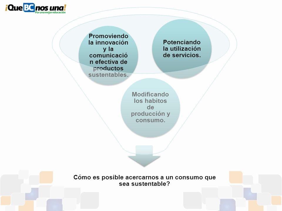 Cómo es posible acercarnos a un consumo que sea sustentable