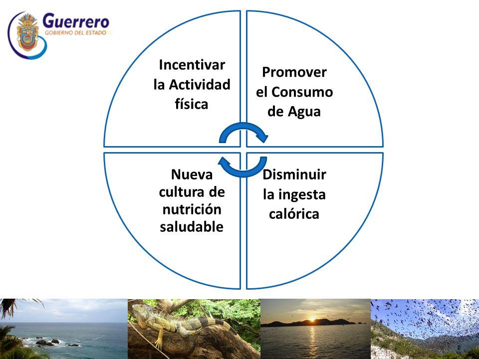 Promover el Consumo de Agua Nueva cultura de nutrición saludable