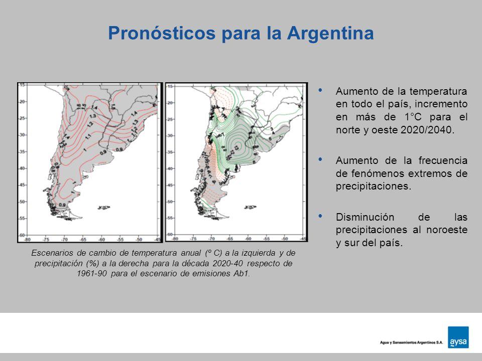 Pronósticos para la Argentina